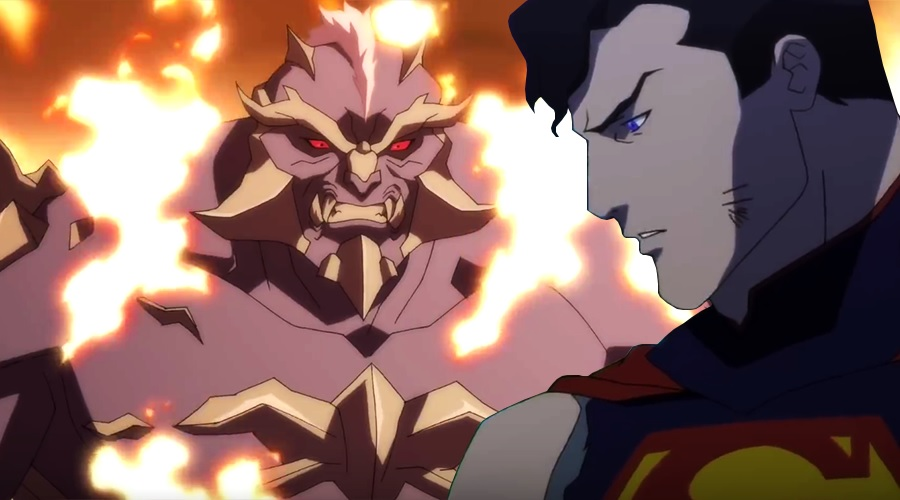 First trailer for The Death of Superman animated movie has made its way online!