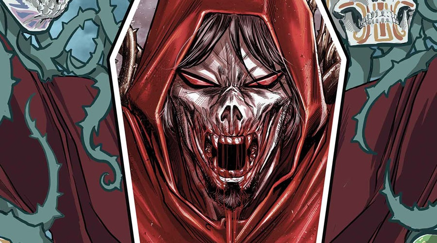 New logline for Sony's Morbius movie tease the arrival of a nightmarish viligante!
