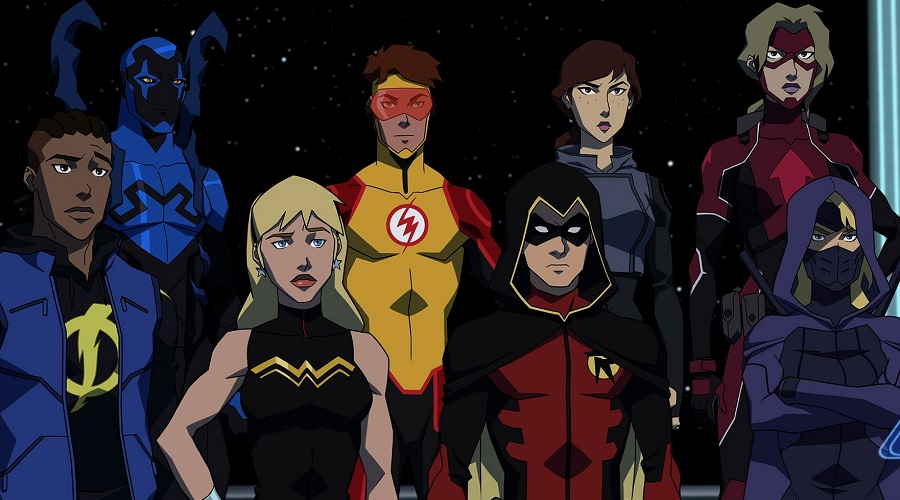 New Young Justice: Outsiders image arrives along with an updated synopsis and a new update on its release window!