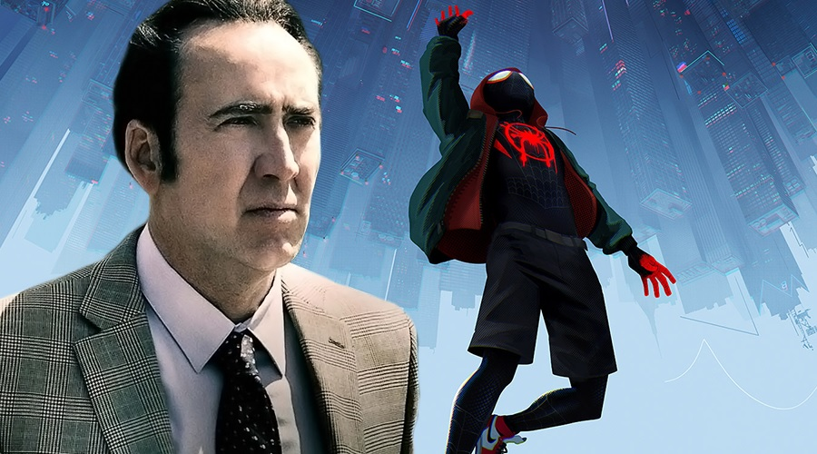 Nicolas Cage has a voice role in Spider-Man: Into the Spider-Verse!