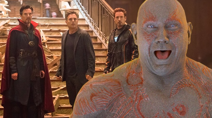 Dave Bautista once again spoils Avengers 4 and casts doubt about returning in Guardians of the Galaxy Vol. 3!