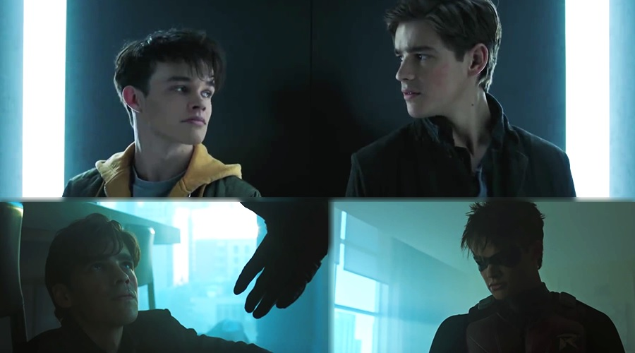 Dick Grayson meets Jason Todd for the first time in the funny new Titans clip!
