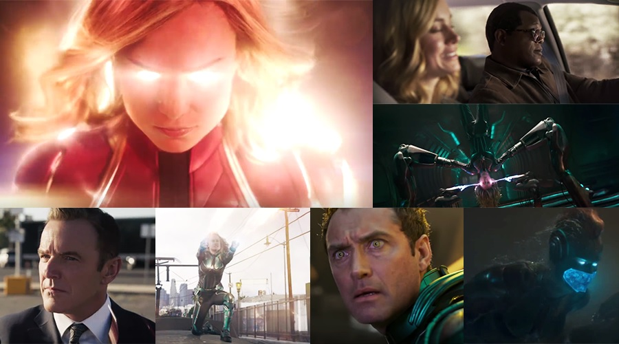 The official trailer for Captain Marvel has been released!
