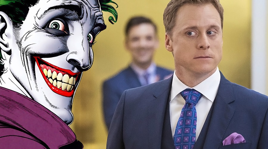 Alan Tudyk is the voice of The Joker in DC Universe's Harley Quinn!