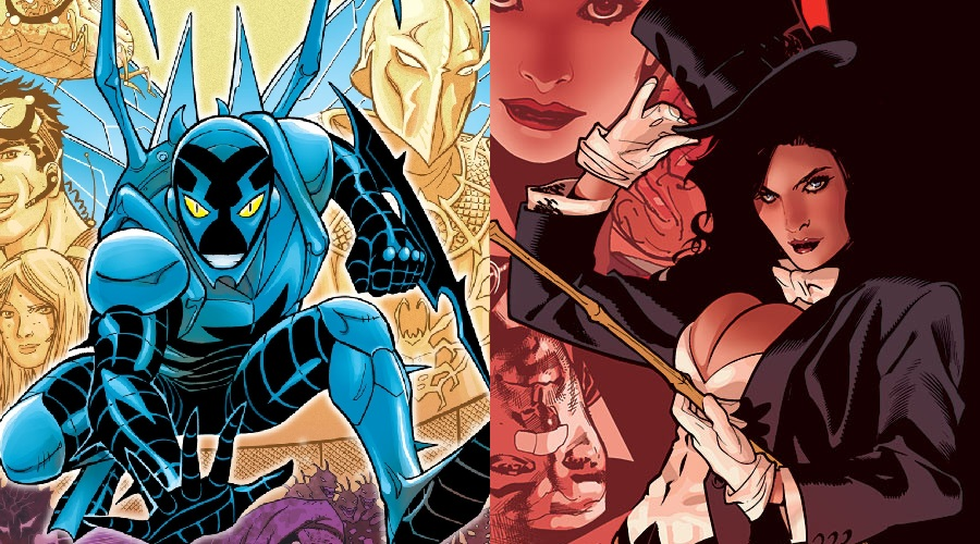 A Blue Beetle movie is reportedly in the works at Warner Bros. and a Zatanna movie is being discussed!