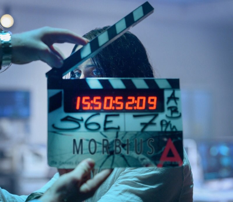 The first on-set photo of Morbius