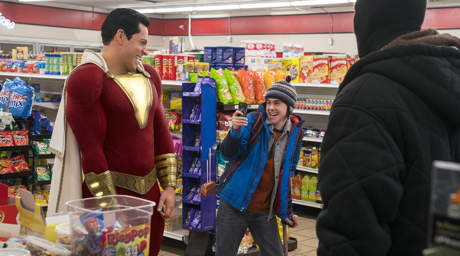 The first wave of reviews for Shazam! point towards the movie being the second win in a row for DC!