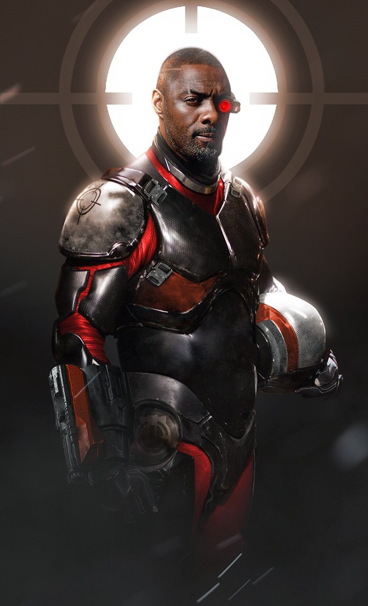 Fan-art: Idris Elba as Deadshot
