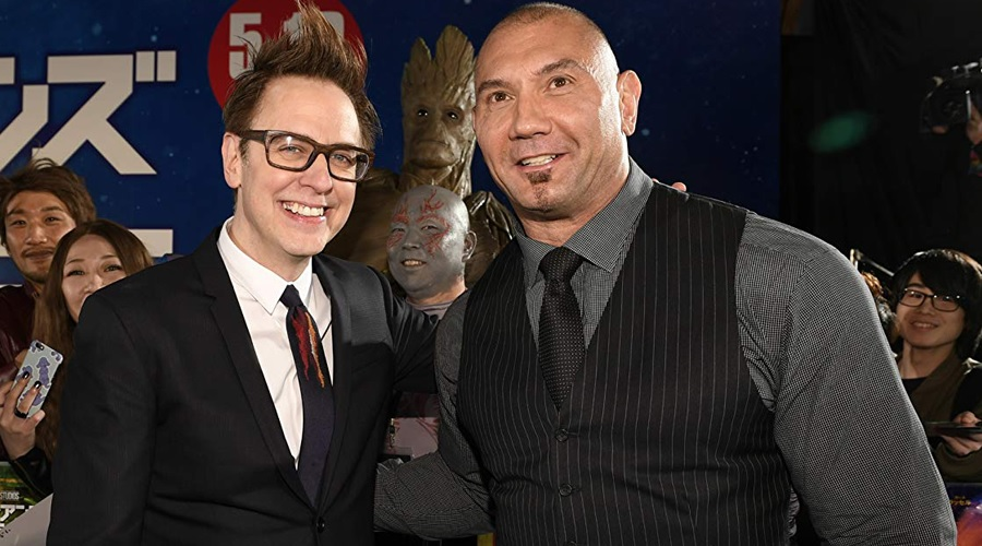 It seems like James Gunn has a role for Dave Bautista in The Suicide Squad!