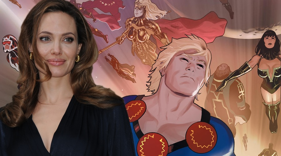 Angelina Jolie in talks to join The Eternals