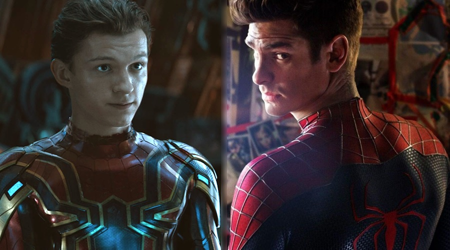 Tobey Maguire's Spider-Man successors: Tom Holland and Andrew Garfield