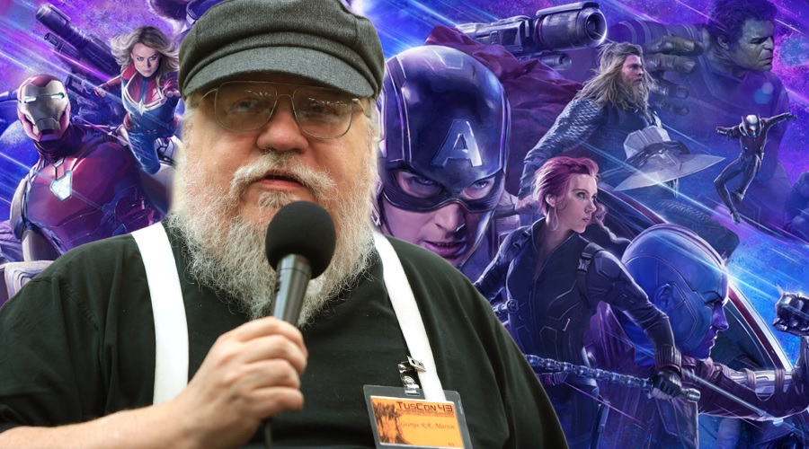 George R.R. Martin says Avenger: Endgame is not just a big dumb action movie!