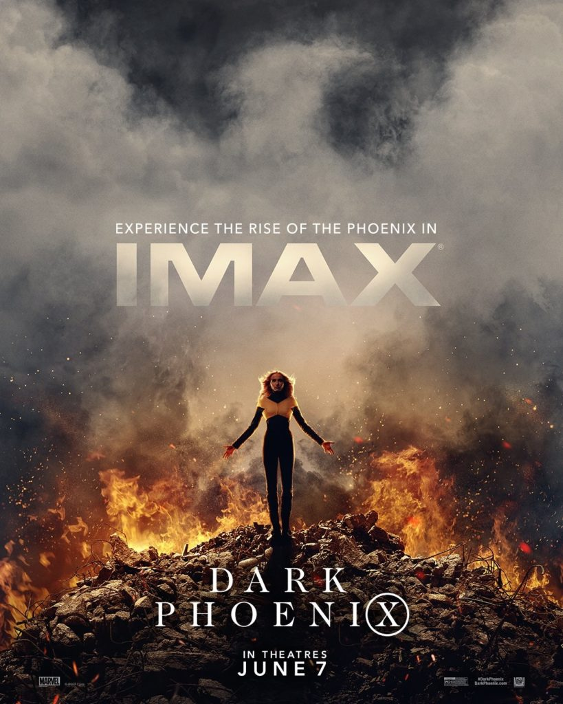 The IMAX poster for Dark Phoenix