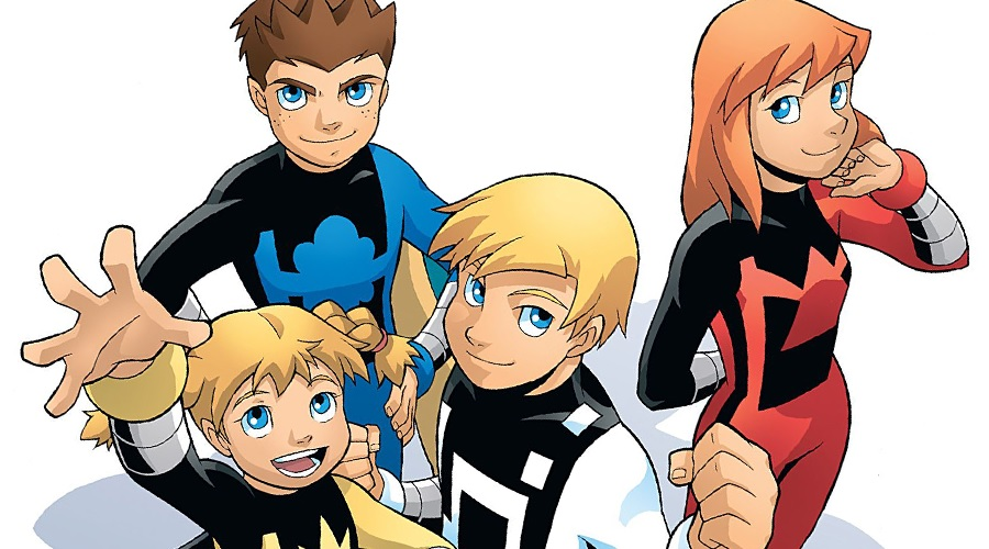 A Power Pack live-action project is apparently in active development!