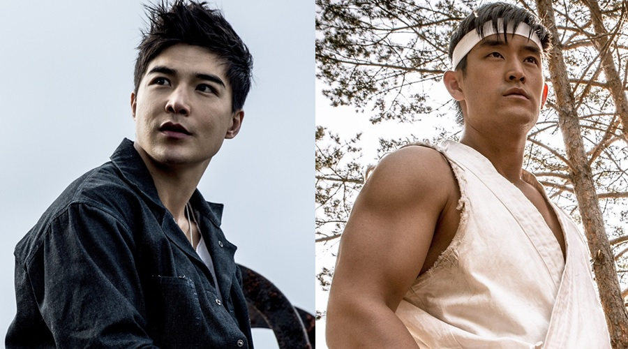 Ludi Lin and Mike Moh - two other possible contenders for the role of Shang-Chi