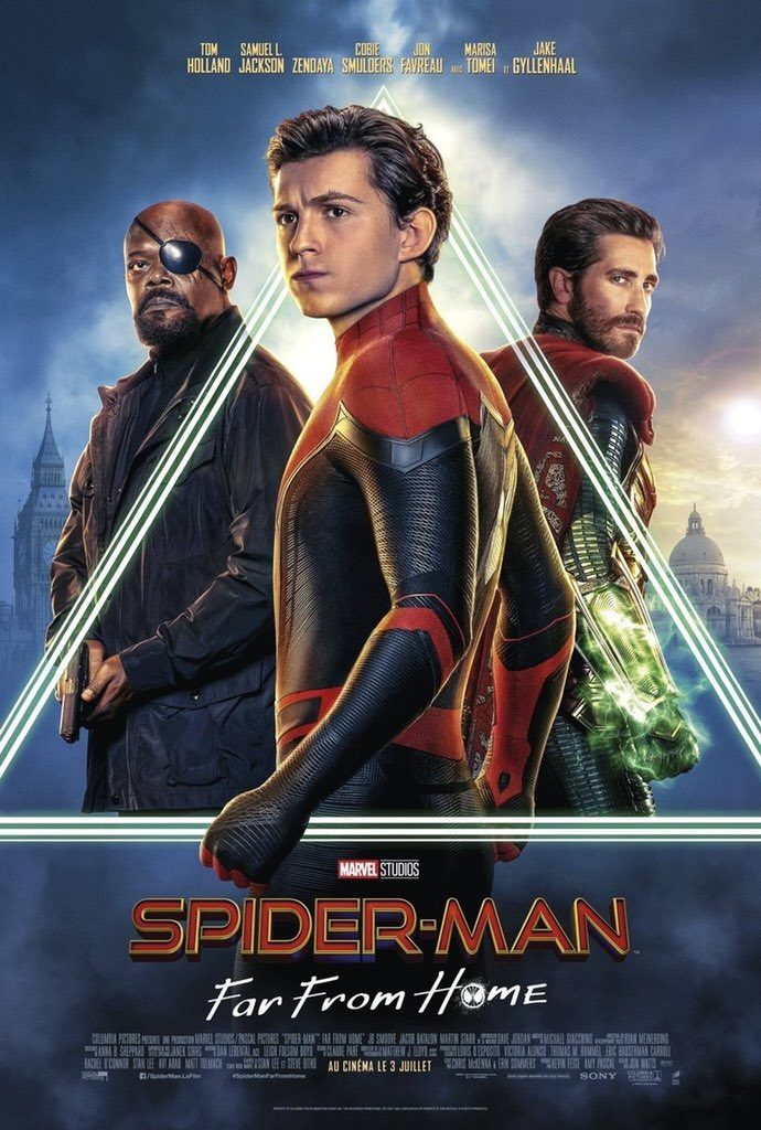New full poster for Spider-Man: Far From Home