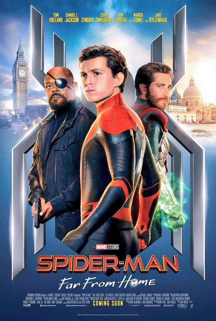 Another new full poster for Spider-Man: Far From Home