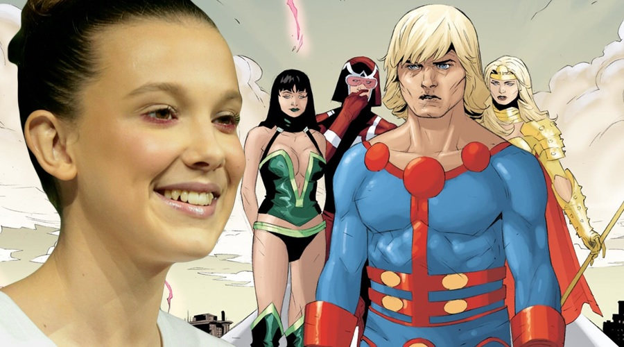 Millie Bobby Brown has debunked rumors about her casting in The Eternals!